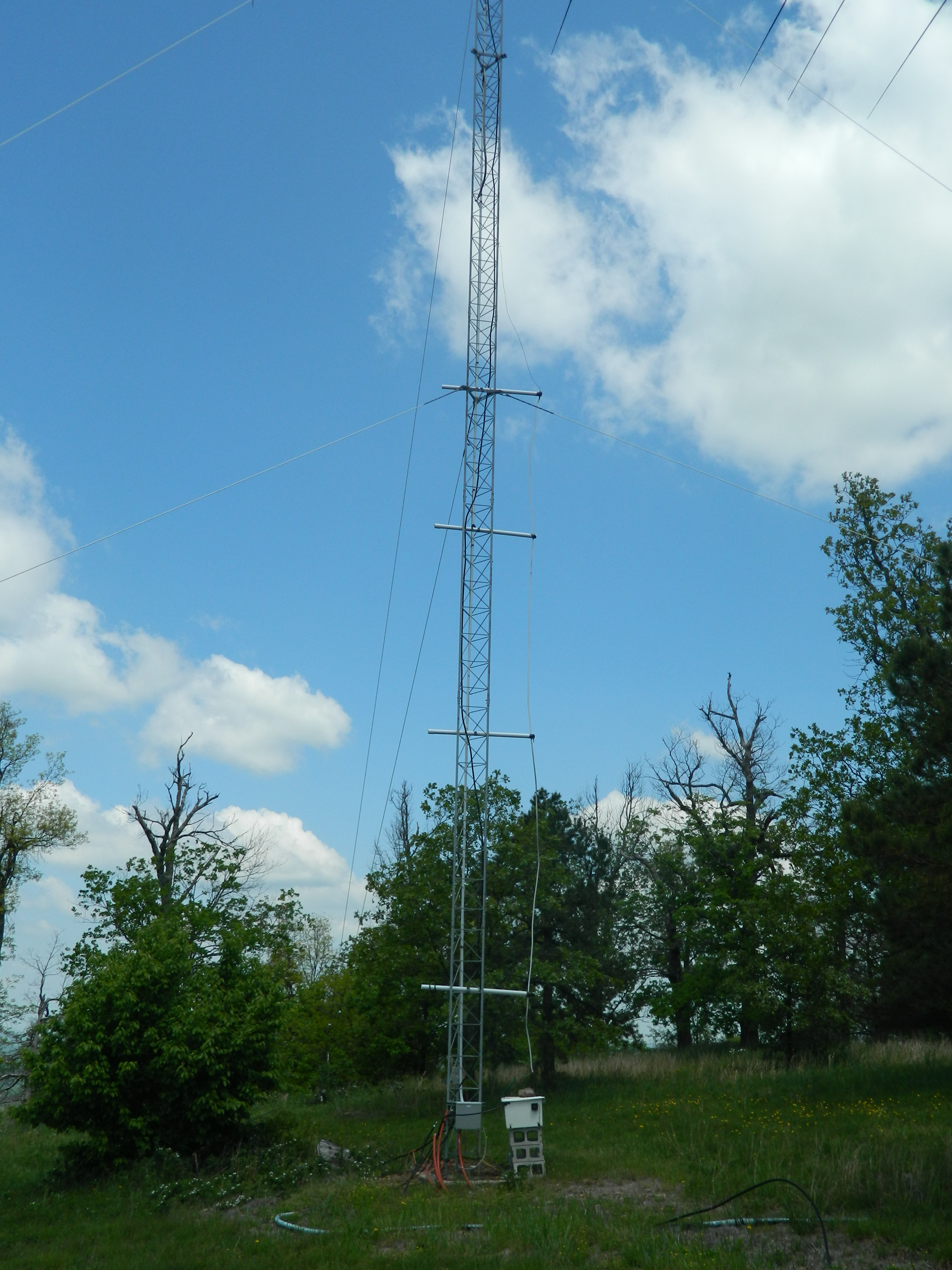Shunt Fed Tower for 160 Meters
