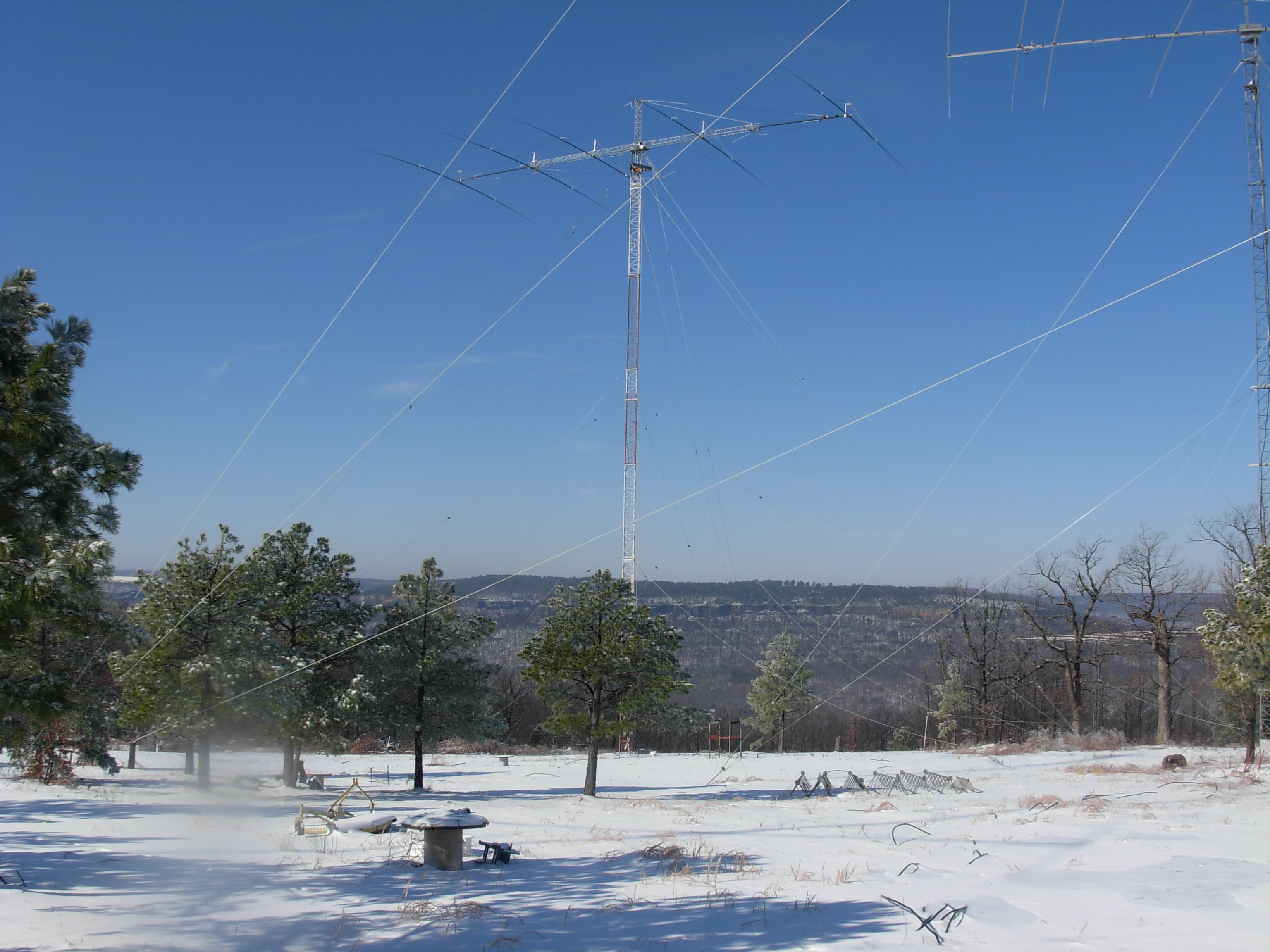 40 Meter Yagi in Winter