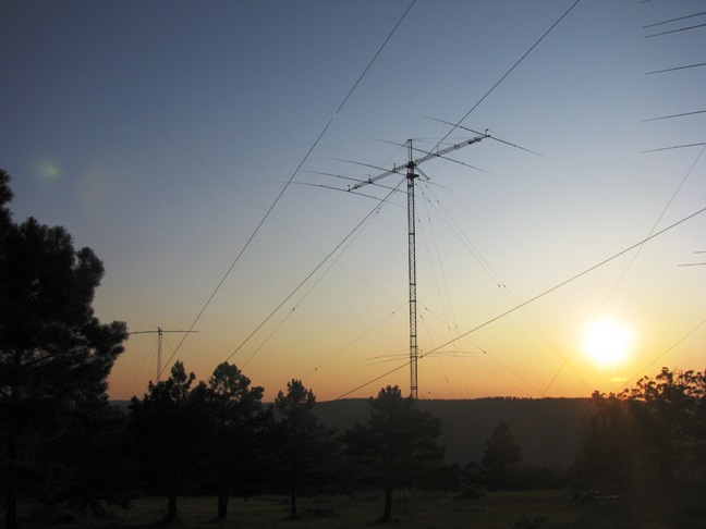 40 Meters at Sunset
