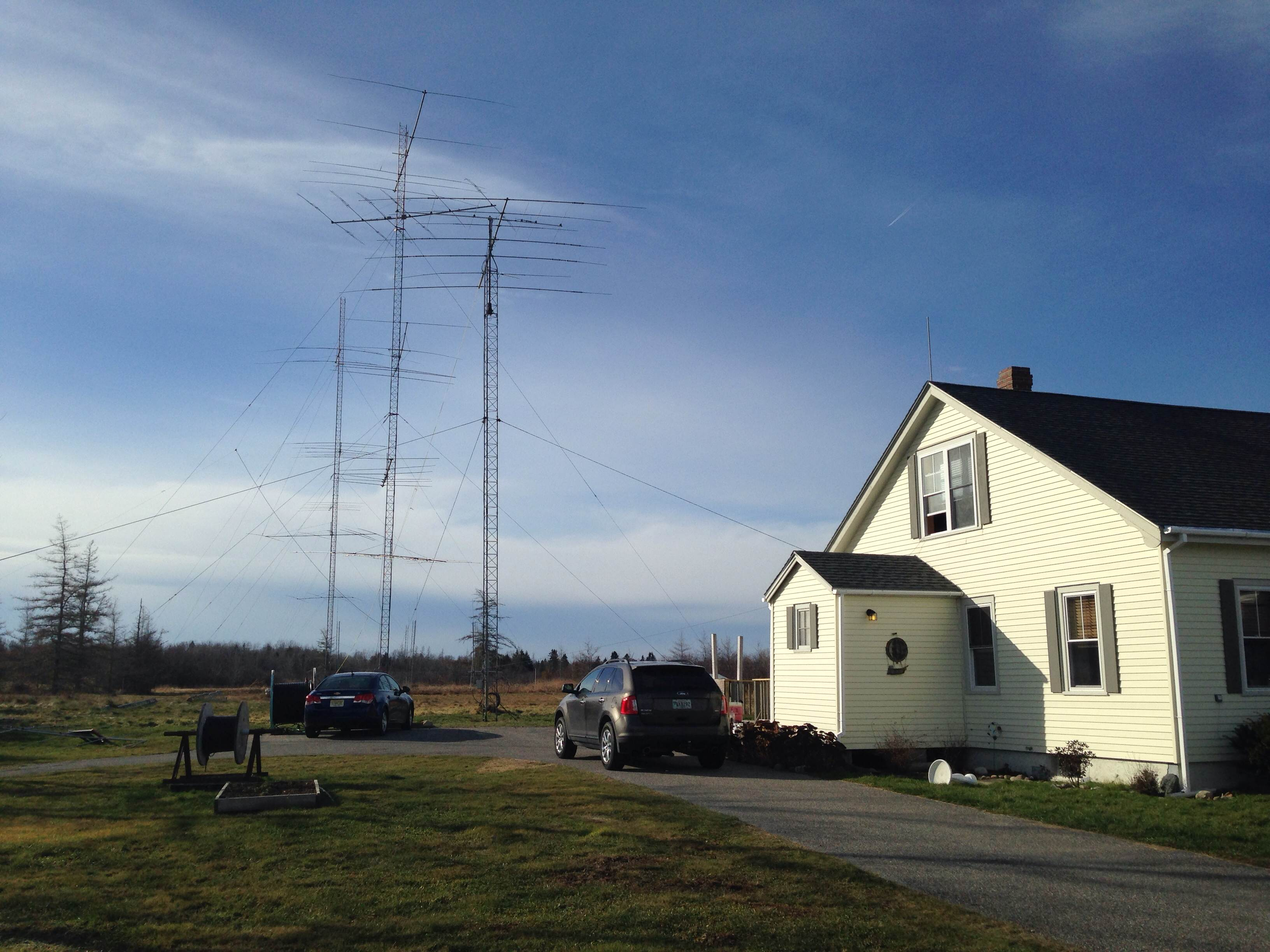 W1WMU Antenna Farm